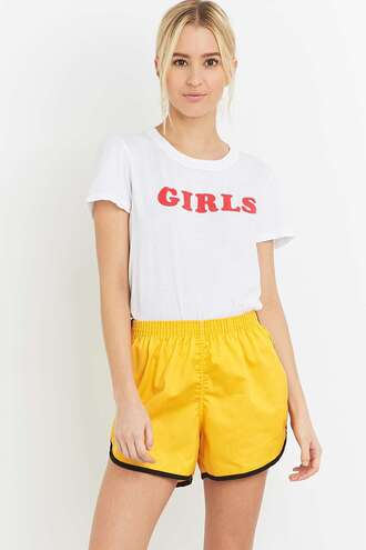 t-shirt girl retro vintage white t-shirt