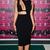 Cut Out Asymmetrical Midi Bandage Dress Black