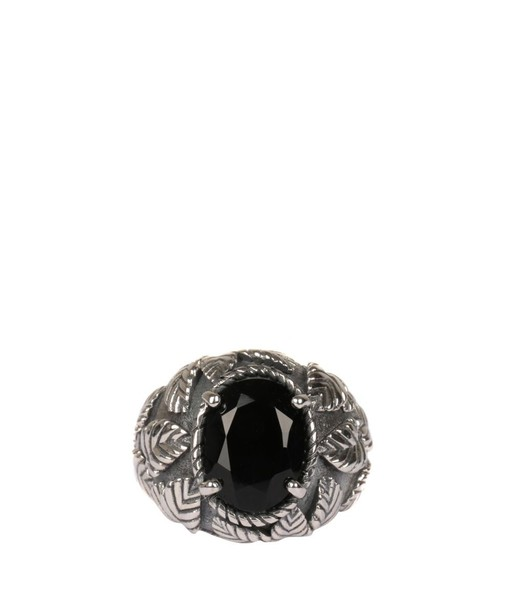 Ugo Cacciatori romantic ring silver ring silver leaves jewels
