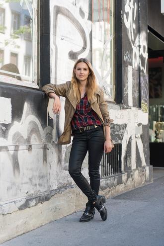 fashion gamble jacket jeans shoes bag shirt
