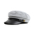 Wholesale Chic Style Belt Shape Embellished Solid Color Military Hat For Men and Women (BLACK,ONE SIZE), Hats - Rosewholesale.com