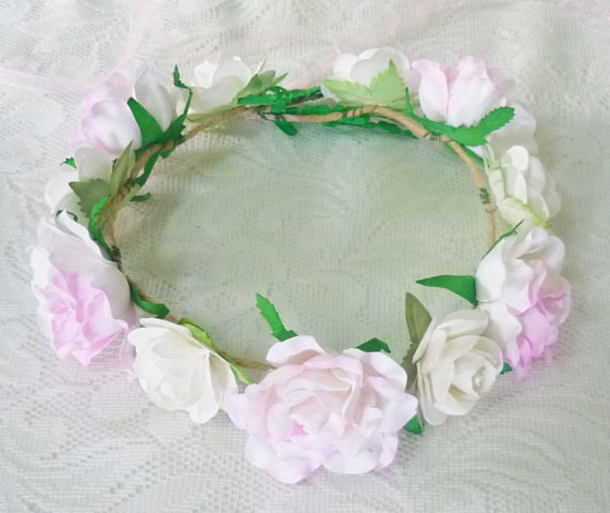 Hair Accessory Flower Crown Birthday Gifts For Her Flowers Women