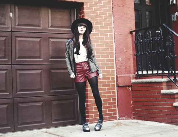 jag lever jacket shoes shorts hat blouse