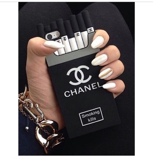 phone cover phone cover smoking kills iphone cigarretes black and white black chanel cigarette iphone6