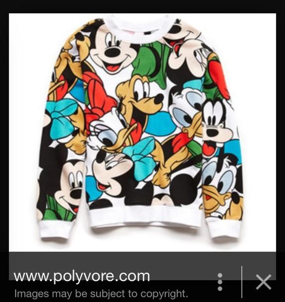 Sweater Mickey Mouse Sweater Mickey Mouse Hoodies Toddler Baby