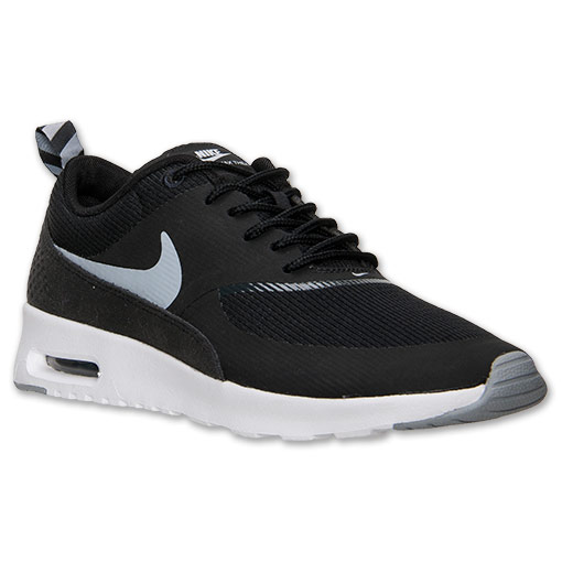 promo code 7404e 7770e Womens Nike Air Max Thea Running Shoes  FinishLine.com  Blac