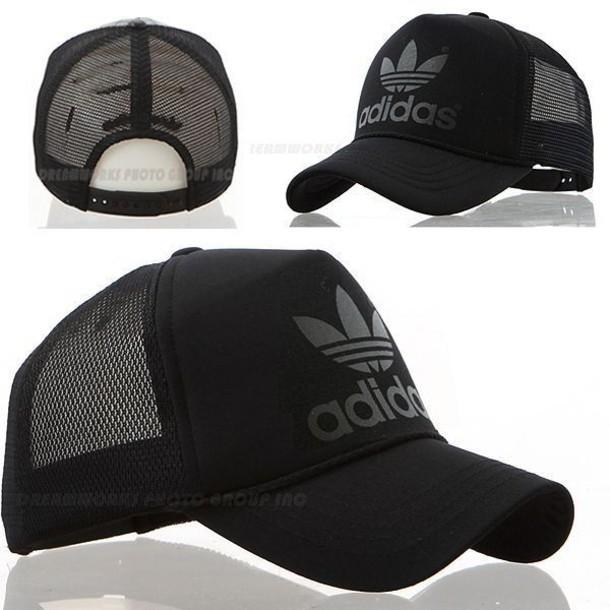 hat cap cap adidas trucker caps adidas trefoil black casquette adidas noir adidas  hat baseball cap 4b65bbb9b9b