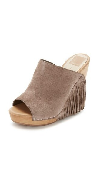 wedges taupe shoes