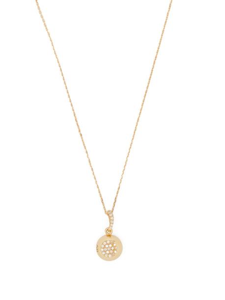 AURÉLIE BIDERMANN FINE JEWELLERY 18kt gold & diamond pendant necklace