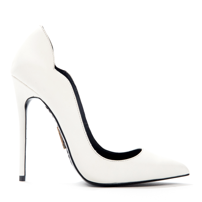 Lust for life kash pump in white (pre