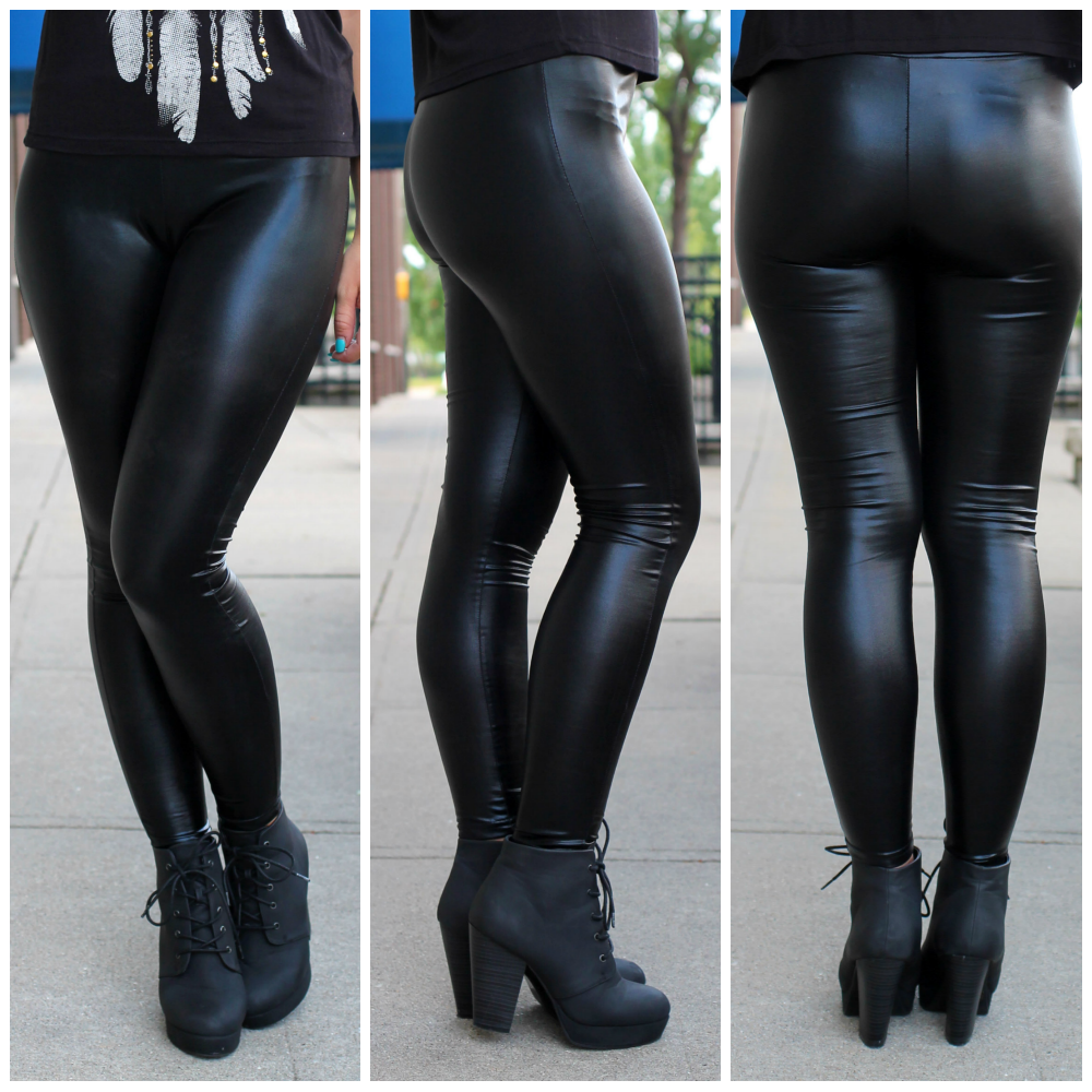 leather leggings   uoionline.com: Women's Clothing Boutique
