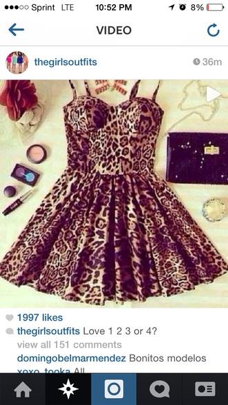 dress lepoard print leopard print same cut.