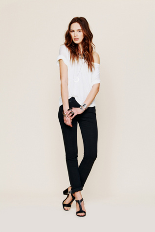 free people womens mid rise stovepipe