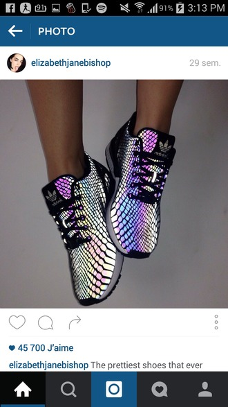 shoes adidas sneakers snake print holographic glow in the dark