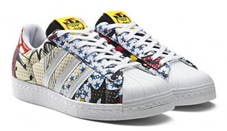 shoes adidas adidas superstars superstar rita ora rita ora adidas pop art sneakers adidas shoes adidas originals stars