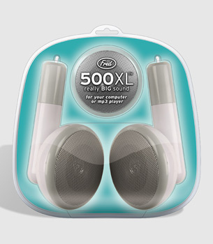 500xl giant earbud speakers