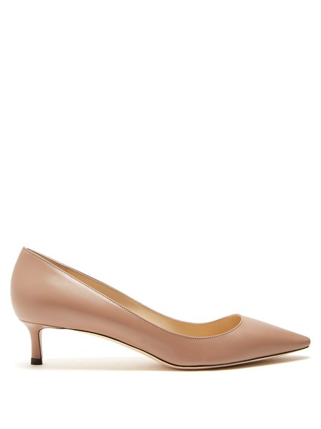 Jimmy Choo pumps leather nude shoes