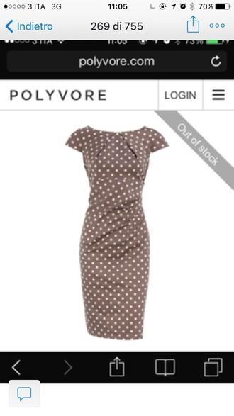 dress pinup dress dot dress polka dots dress polka dots pin up midi dress grey dress