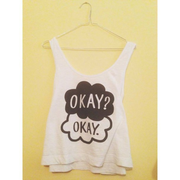 white top the fault in our stars