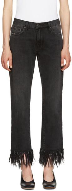 MSGM jeans black
