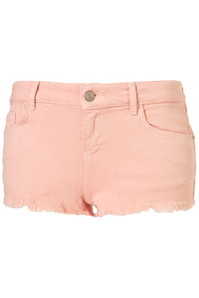 Topshop - MOTO Pale Pink Cut Off Shorts customer reviews - product reviews - read top consumer ratings