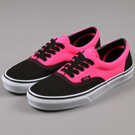 Vans Pink And Black