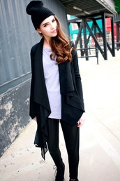 coat,multi-layered black draped coat,draped coat,winter draped coats,fashion draped coats,long sleeve draped coats