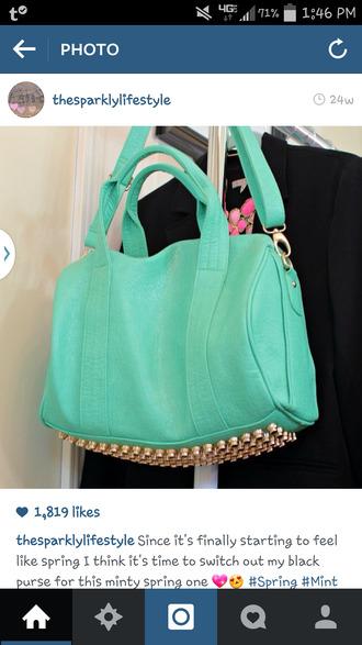bag studs purse studded bag