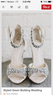 white high heels,wedding shoes,shoes,fashion,ankle strap heels,rhinestones,style,open toes,open toe high heels