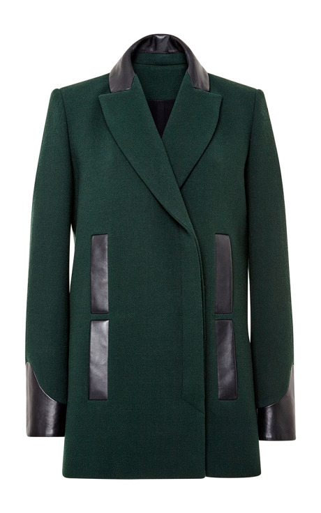 Double breasted peacoat by maiyet