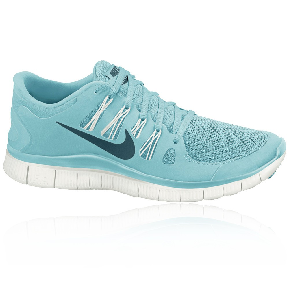 nike free run womens light blue