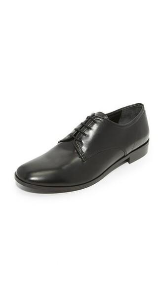 oxfords black shoes