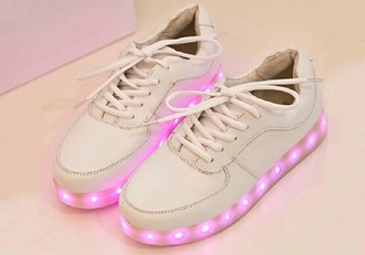 sneakers 90s style glow in the dark