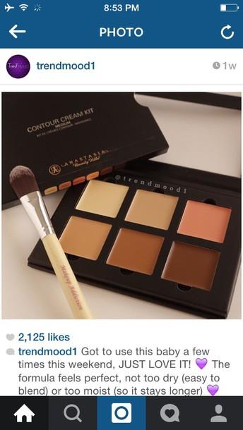 make-up contour cream kit