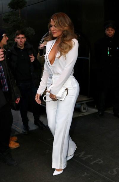 pants khloe kardashian beautiful tight