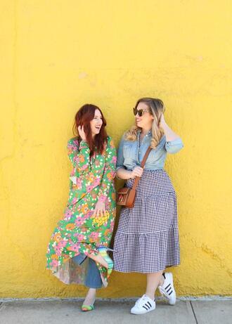 tf diaries blogger dress jeans shoes shirt bag sunglasses