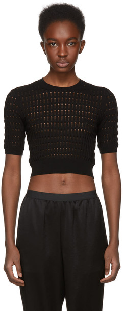 T by Alexander Wang sweater black