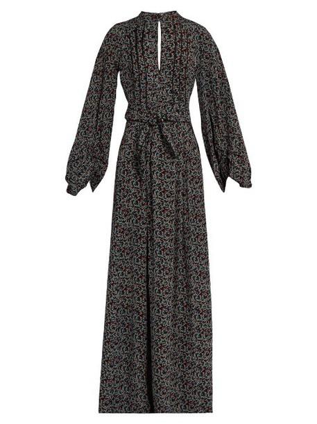 Talitha dress maxi dress maxi print black