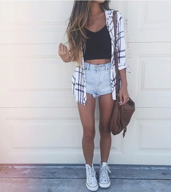 jacket crop tops shorts denim sweatshirt light jacket