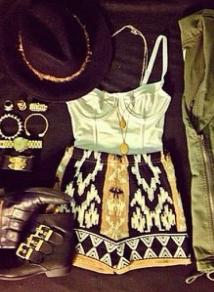 shorts tribal