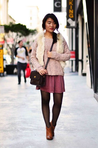 daily disguise sweater skirt jacket bag shoes