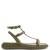 Free Rockstud leather sandals