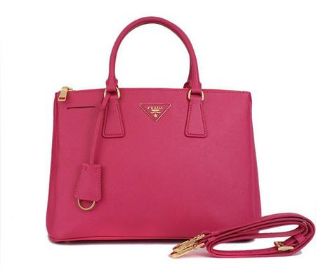 Bolsa Prada Saffiano - PINK - Rosa   Pink
