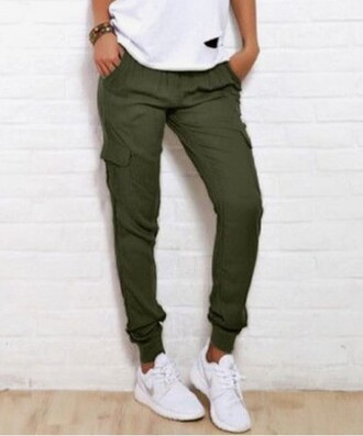 Olive Green Cargo Pants - Shop for Olive Green Cargo Pants on ...