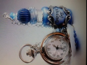 jewels,bottle necklace,necklace,drink me,alice and wonderland