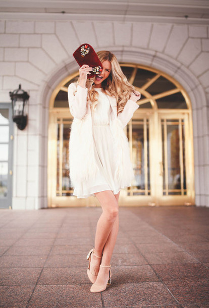 shoes heels beige white white dress purse