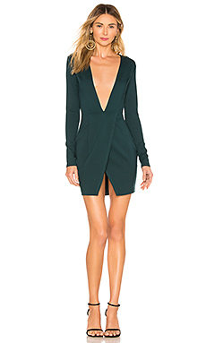 by the way. Crista Wrap Dress In Green from Revolve.com