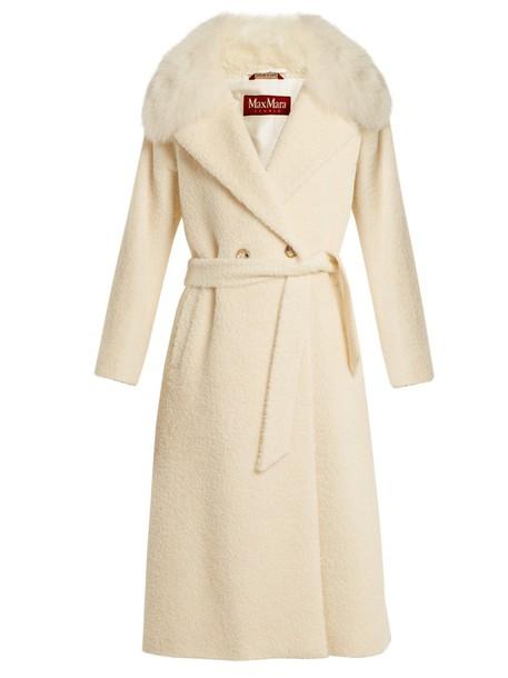 Max Mara Studio coat white