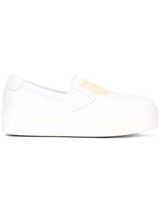 women tiger sneakers leather white shoes