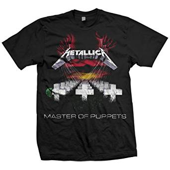 Amazon.com: Bravado Men's Metallica-Master Of Puppets T-Shirt: Music Fan T Shirts: Clothing